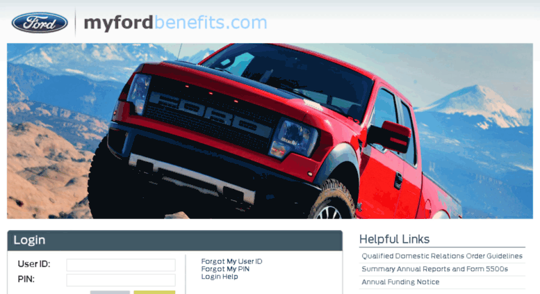 Myfordbenefits My Ford Benefits Login Phone Number Www