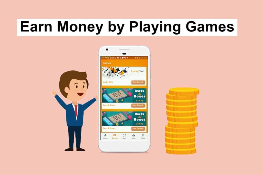 Earn Money by Playing Games Online