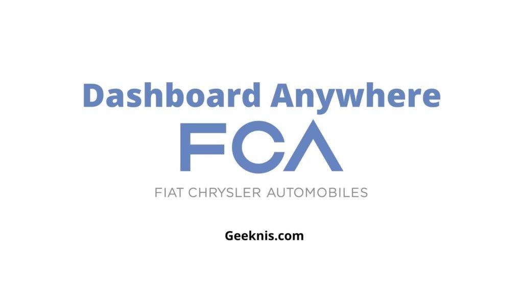 Dashboard Anywhere