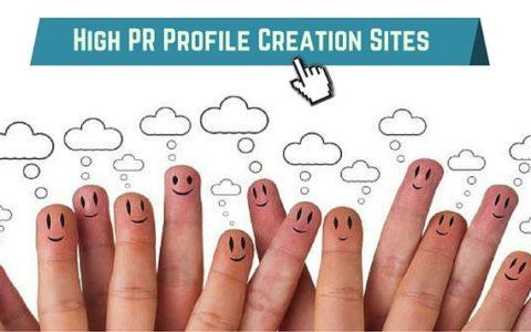 high authority profile backlinks