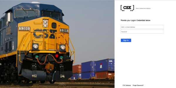 CSX Employee Gateway Login