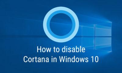 Turn off Cortana on Windows 10