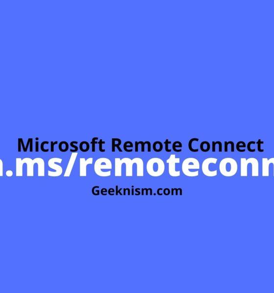 Aka.ms/remoteconnect