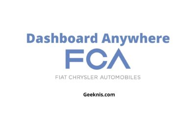 Dashboard Anywhere