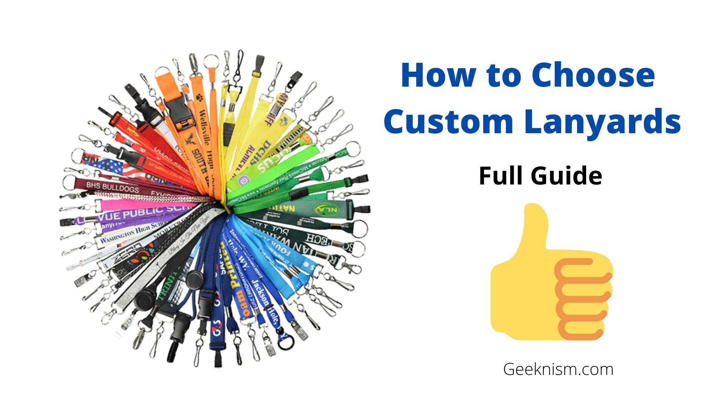 How to Choose Custom Lanyards