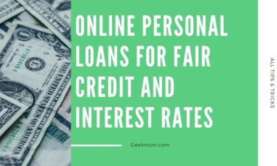 Online Personal Loans for Fair Credit and Interest Rates