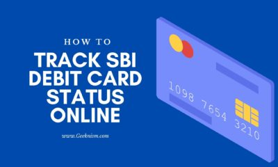 SBI Debit Card Status