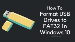 Fat32 Formatter Windows 10